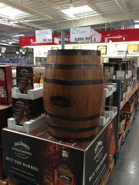 93cb3f093c0 Costco  an entire keg of Jack Daniels for a reasonable  8
