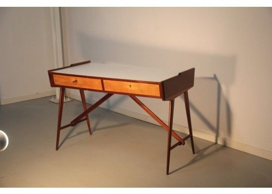 Geometric Italian Desk, 1950 - Desks - Tables - Furniture - Products