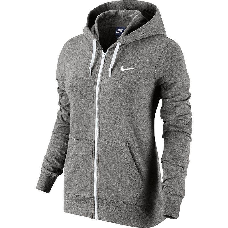 Women's Solid Nike Pink Zip Hoodie Full Dark Jersey zpzwTrnq