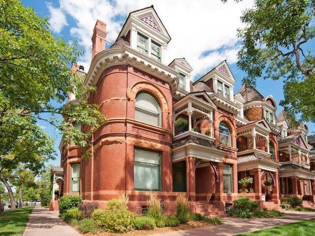 Historic Homes Of Denver The Grafton Victorian Homes Historic Homes Colorado Homes