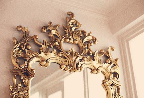 Gold Mirror Gold Aesthetic Princess Aesthetic Decor