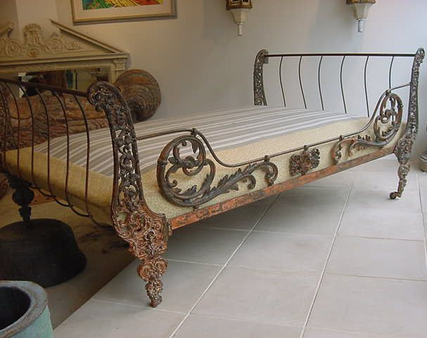 Antique Iron Day Bed Furniture Iron Bed Antique Iron Beds