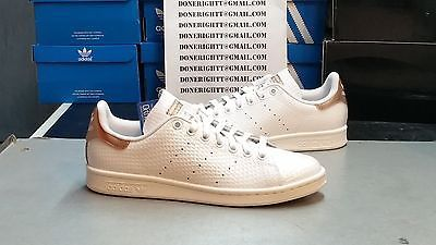 Womens Adidas Stan Smith Copper White Kettle Metallic Rose Gold Yeezy S79411