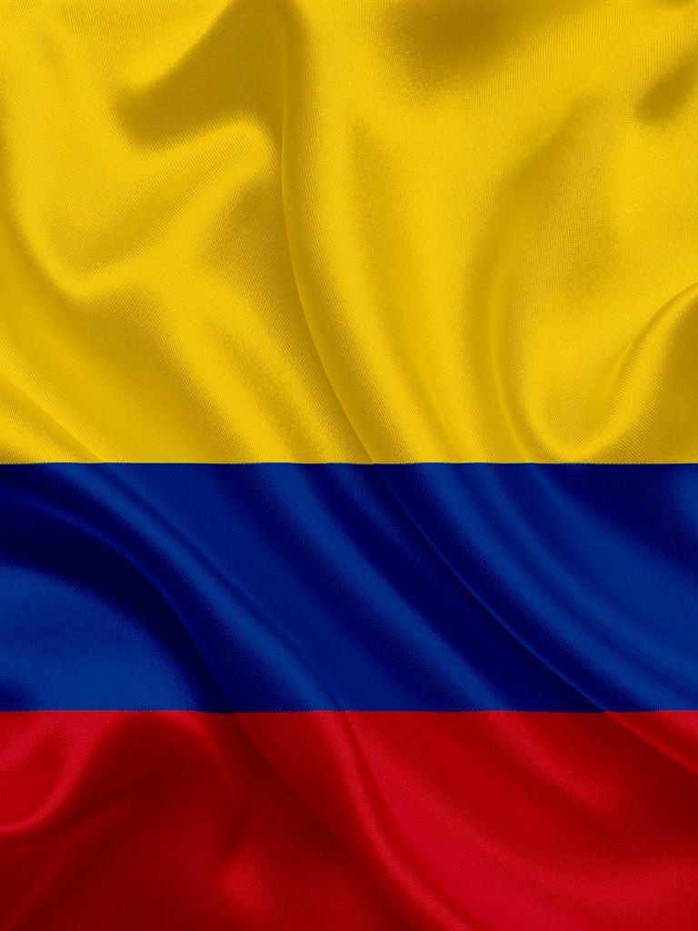Bandera Colombiana Colombia America Del Sur La Seda La Bandera De Colombia Bandera De Colombia Simbolos Patrios De Colombia Fotos De Colombia