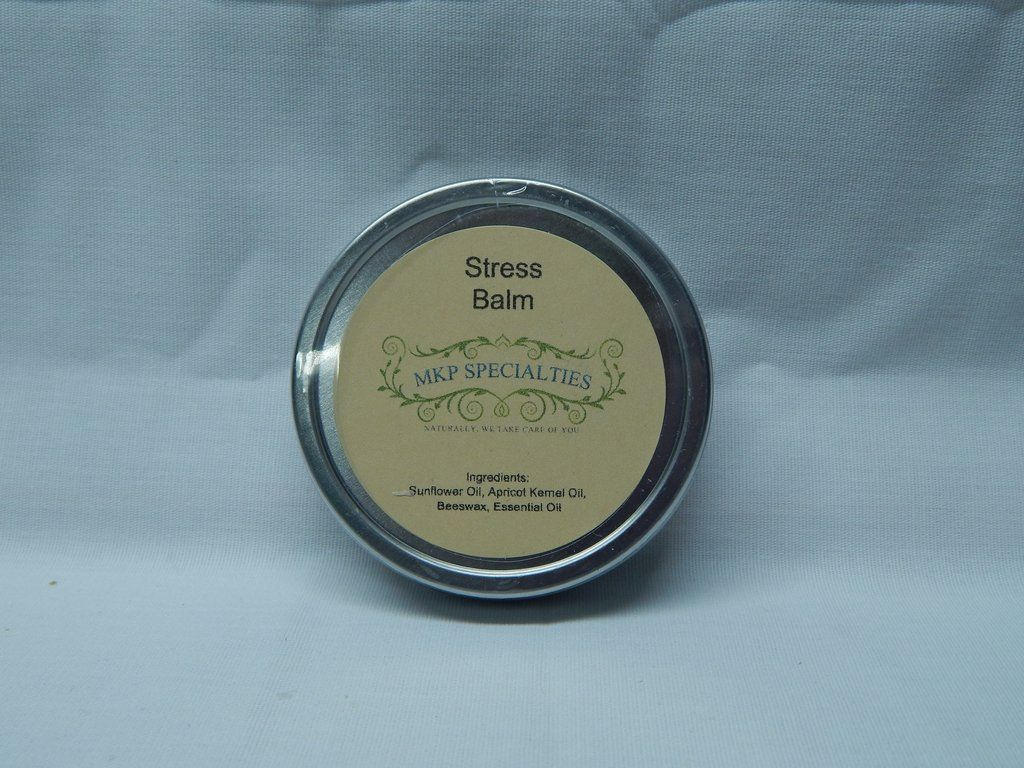 Feeling stressed? Here is a balm to rub on your wrists or behind your ears. It is based with Bergamot Essential Oil.
