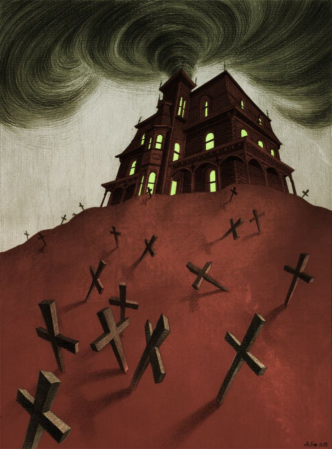 Haunted House by MadLittleClown