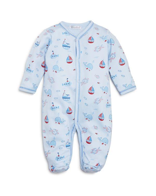c1d2a93483e7 Kissy Kissy Infant Boys  Ahoy There Footie - Sizes Newborn-9 Months ...