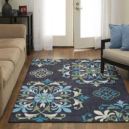 Bon Better Homes And Gardens Alessia Print Area Rug, Multi Color   Walmart.com