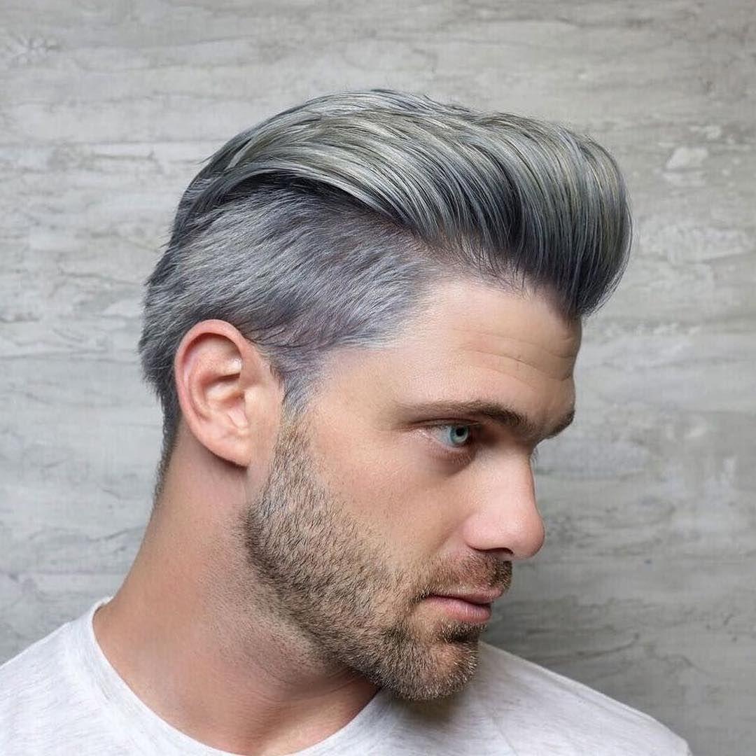 706 Me Gusta 8 Comentarios Joico Color Intensity Joicointensity En Instagram Silver Fox By Melmelqueenb U Dyed Hair Men Grey Hair Men Men Hair Color