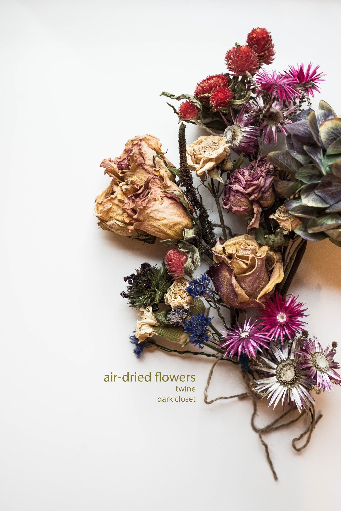 Air dried wedding bouquet - how to keep you flowers alive! | DIY ...