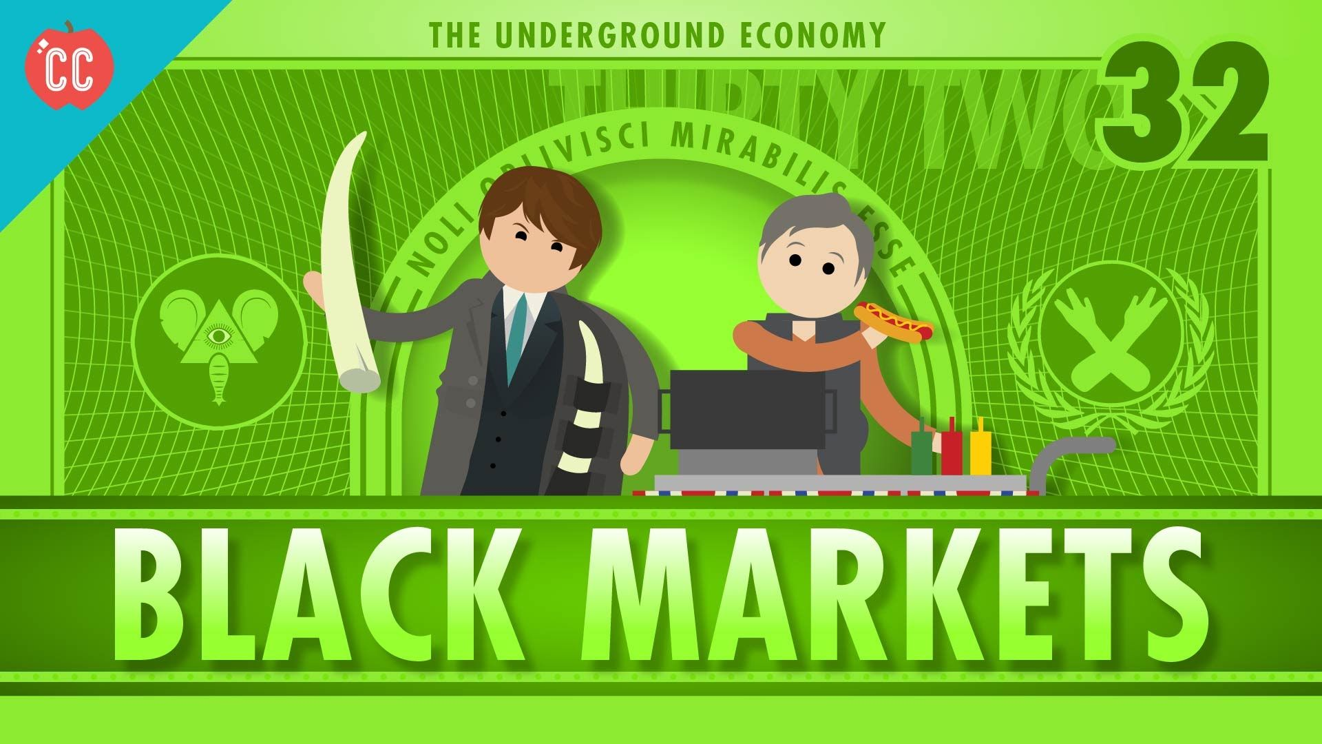The Underground Economy Crash Course Econ 32 Find