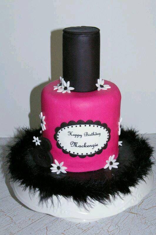 Nagellak Taart Cakes Pinterest Cake