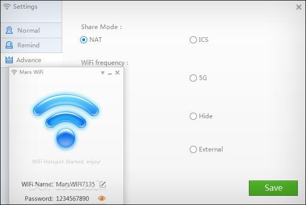 برنامج Mars WiFi لتحويل اللاب توب الى راوتر واي فاي (mit