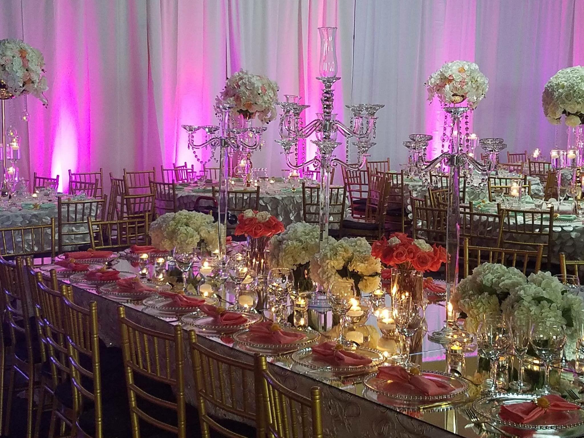 Gorgeous Decor For A Gorgeous Wedding! #tablesetting #tabledecor #tableideas