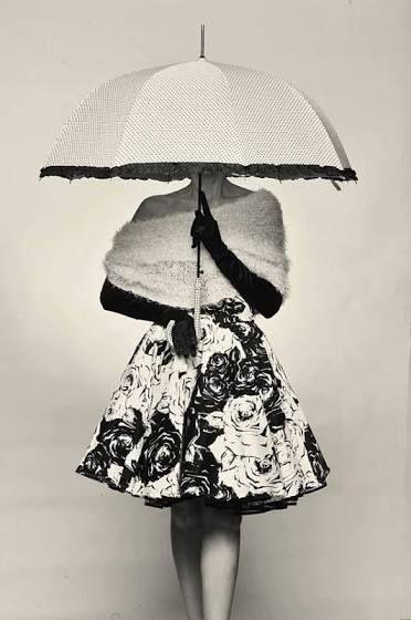 Lovely Vintage Dress Umbrella Fotografi