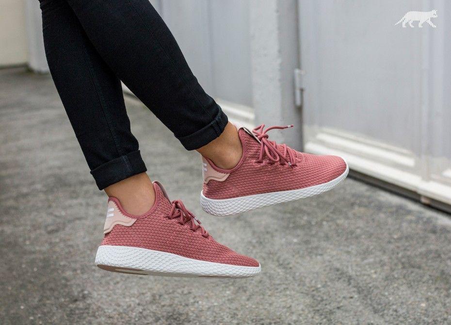 Pharrell Williams X Adidas Tennis Hu Ash Pink Grailify Sneaker Releases Adidas Pharrell Williams Sneakers Fashion Sneakers