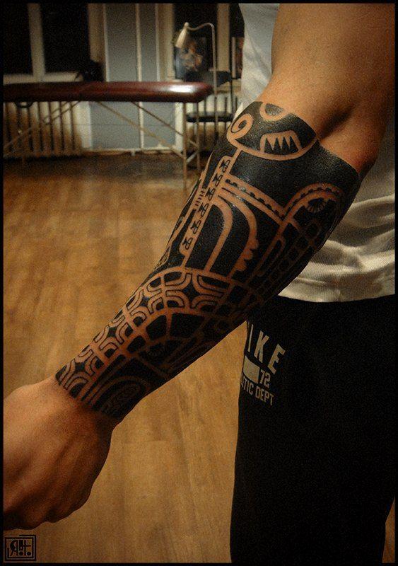 Maori Forearm Tattoo: #ILOVETATTOOSINDEED