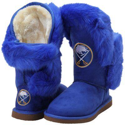 f2e720b62a2 Women's Buffalo Sabres Cuce Navy Blue Champions Boots | My NHL Wish ...