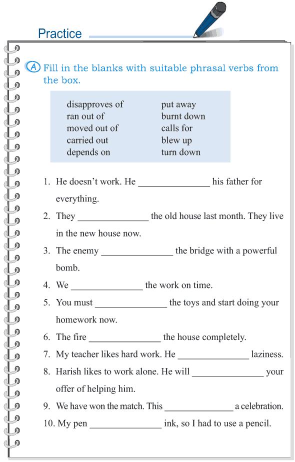 Grade 5 Grammar Lesson 15 Phrasal Verbs 3 Grammar