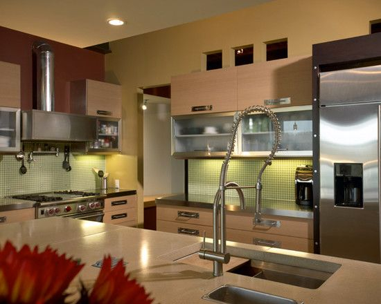 Amazing Kitchen Details View Akey Residence Silver Faucet Interior Decor - Decorstate