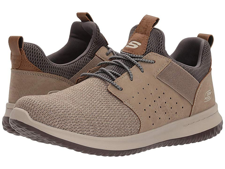SKECHERS Classic Fit Delson Camben Men's Shoes Taupe