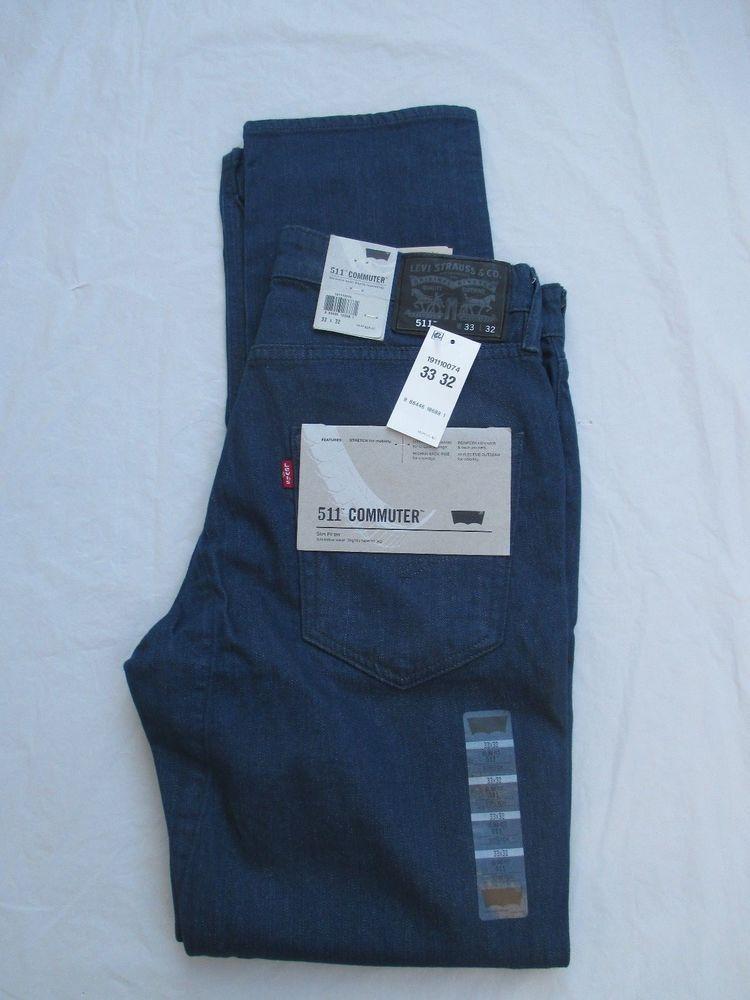 09d9cdf1ec4 Levis Jeans 511 Slim Commuter Scotchlite Construction Color Dark Blue  191110074 #Levis #Slim