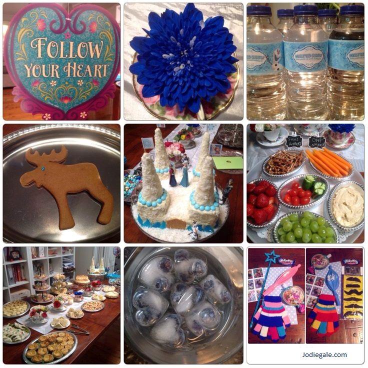 Frozen Party Queen Elsa Coronation High Tea for our 5