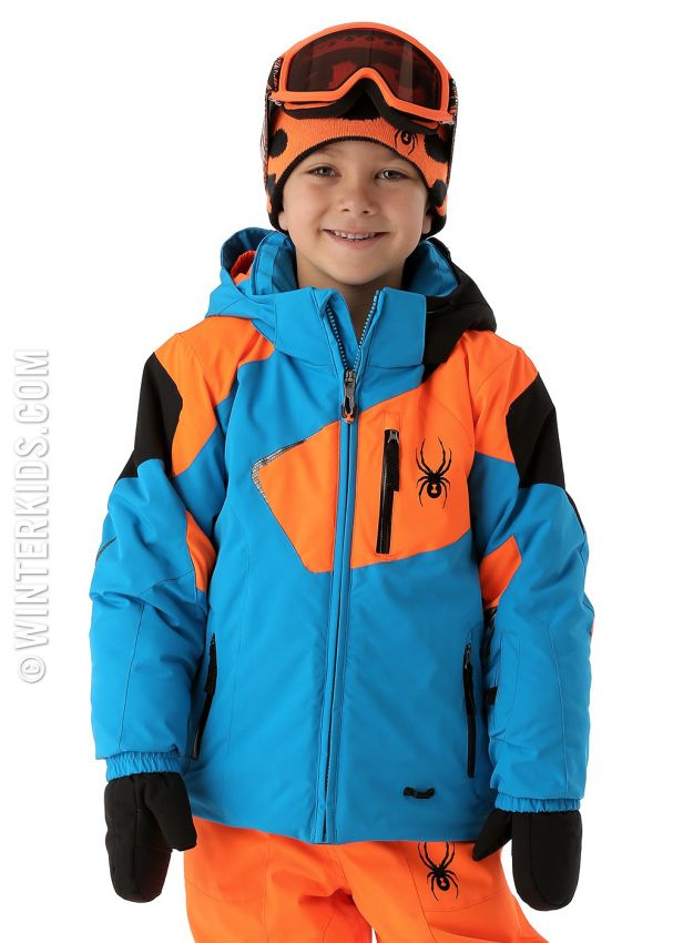 4921b82fec68 Spyder ski jacket boys mini leader