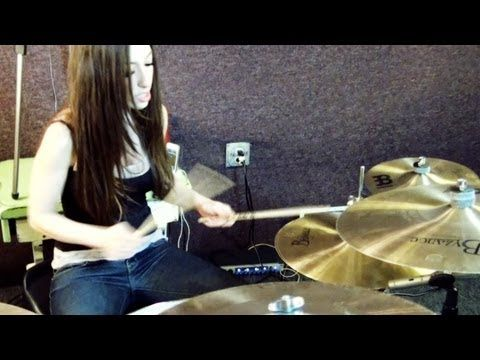 Foo Fighters Everlong Drum Cover By Meytal Cohen Youtube Foo Fighters Everlong Foo Fighters Drum Cover