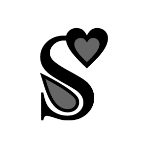 Graphic Design Of Heart Clipart Black Alphabet S With White Background Clip Art White Background Love Heart Images