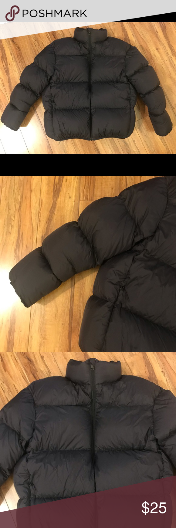 Uniqlo Ultra Light Volume Down Jacket Puffer Black Black