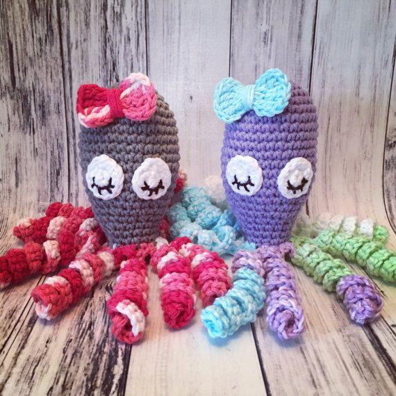 Pattern Only Crochet Preemie Octopus Preemie Comfort Nicu Octopus