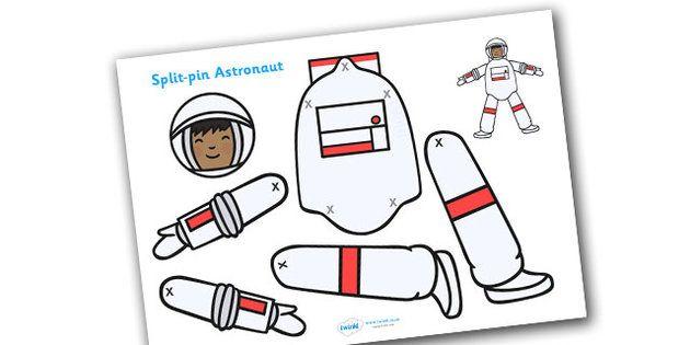 Split Pin Astronaut - split pin astronaut, astronaut ...