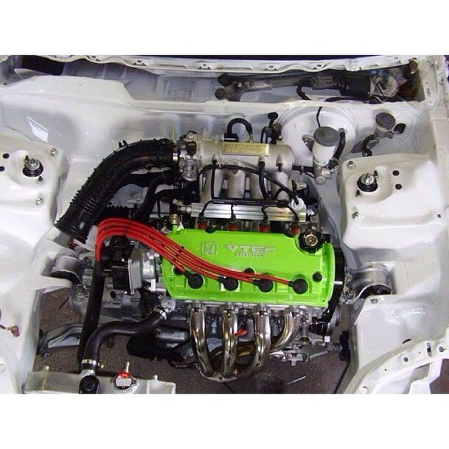 D16z6 Single Overhead Cam - Wire Tuck   Import Cars and
