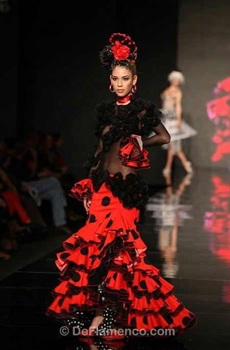 flamenco styled wedding dress | Mexican Themed Wedding | Pinterest ...