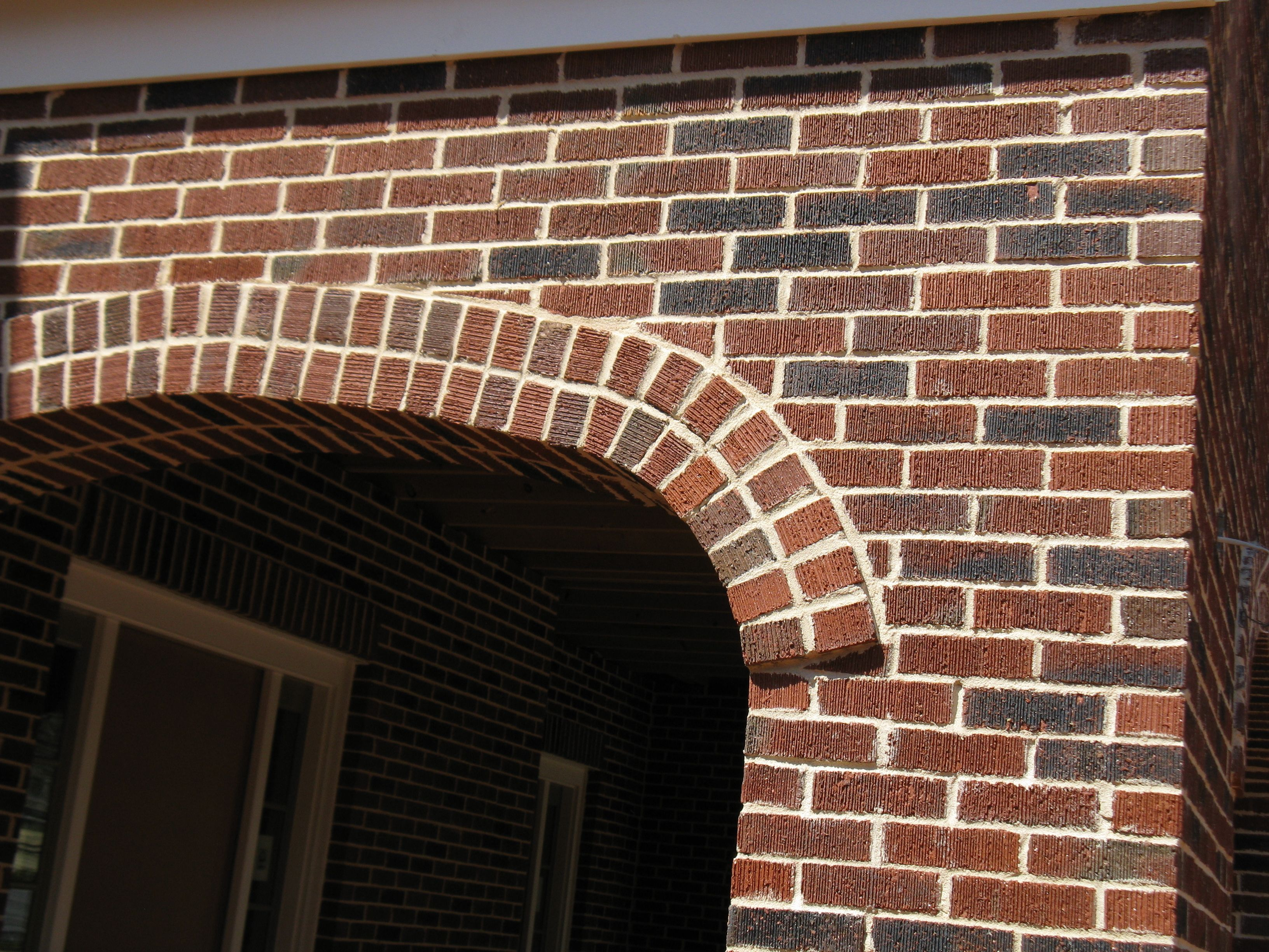 Decorative arches bring light and air into a structure. This ...