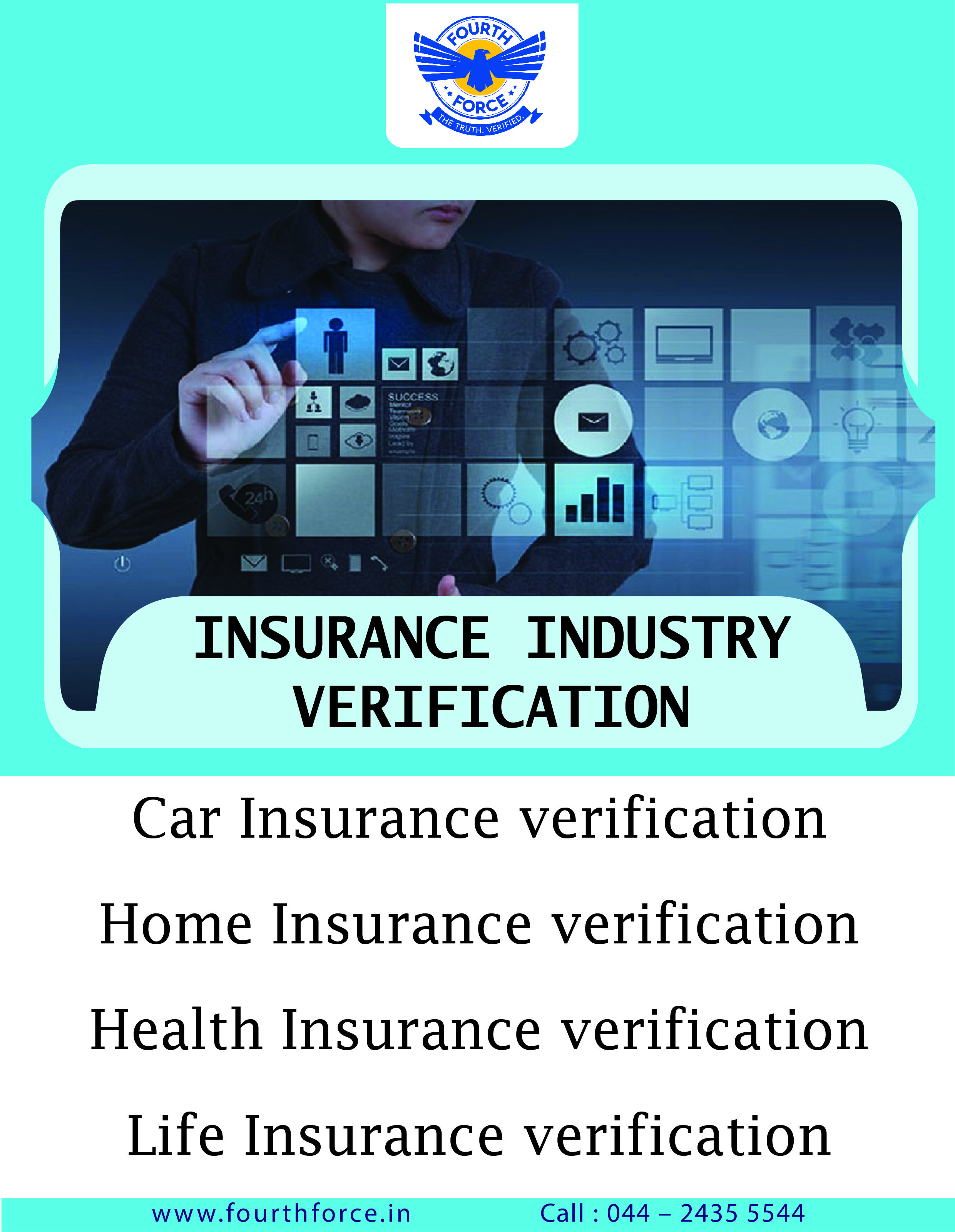 Verification On Insurance Industries Insurance Industry Home