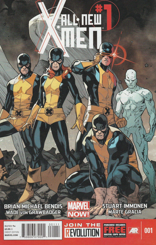 All New X Men 1 Marvel Comics Vol 1 Wrap Around Cover Marvel Girls X Men Marvel Now