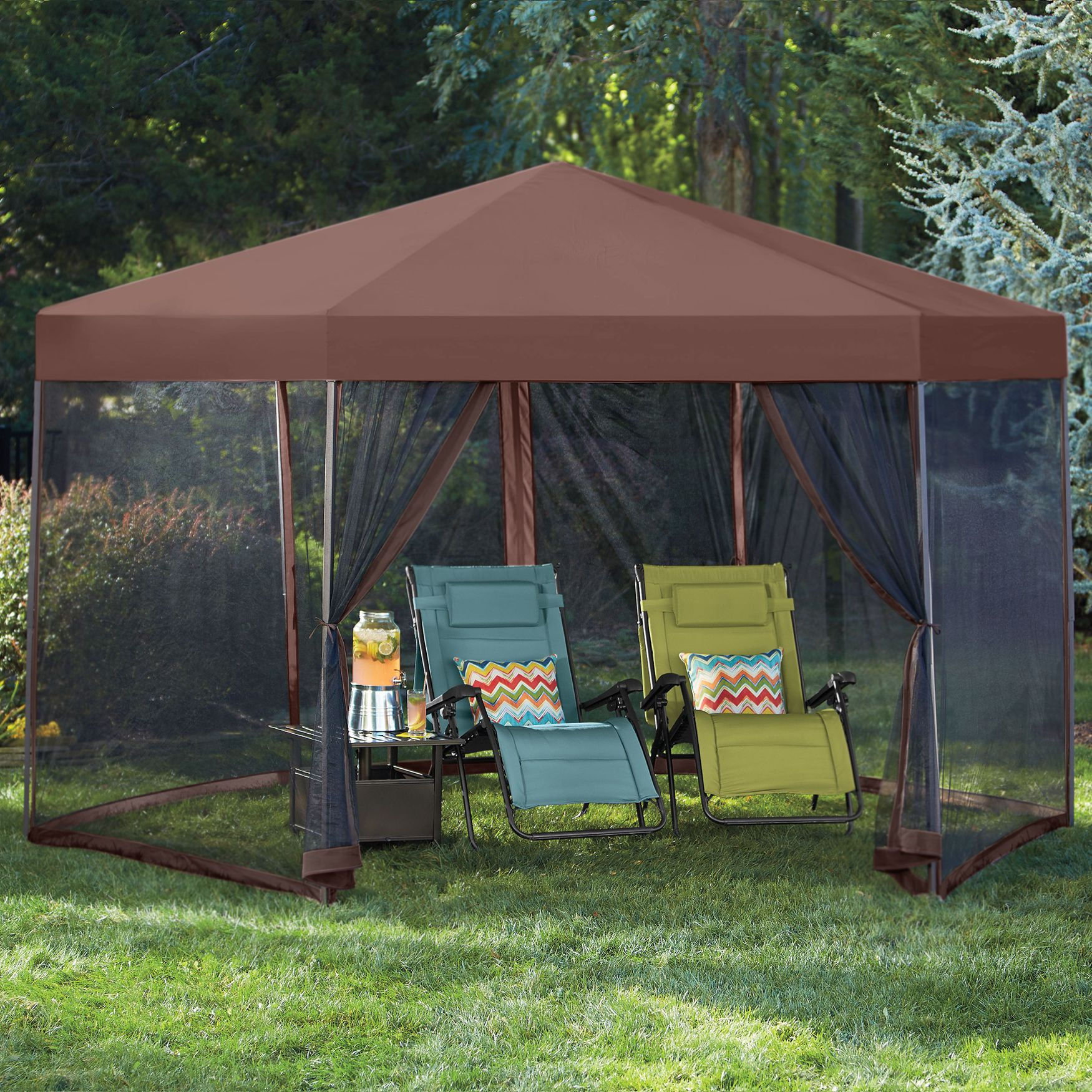 128 Sq. FT. Hexagonal Gazebo