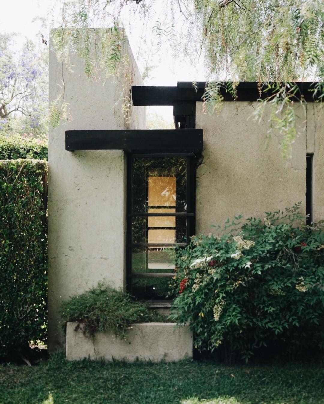 Cozy Hous Ideas: Outside The Schindler House.