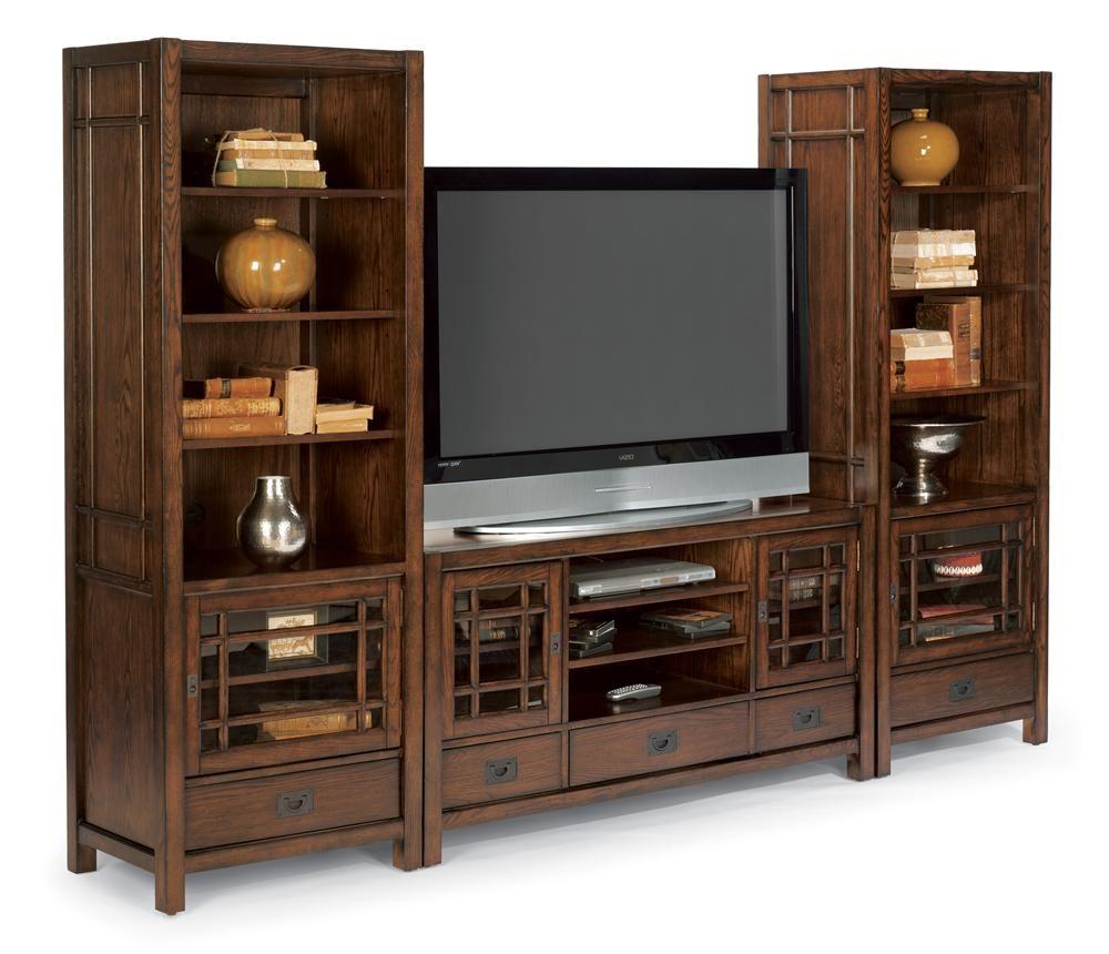 Living Room Furniture Springfield Mo Flexsteel Sonoma Entertainment Base With Ample Storage Missouri