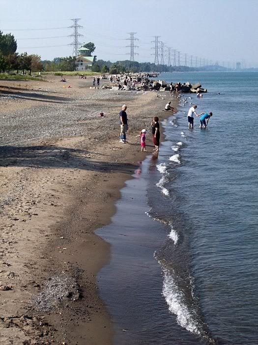 Hamilton Ontario,  Beach.   Lake Ontario