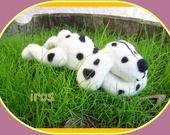 IROS petit chien en laine feutrée : Accessoires de maison par tricot-couture-bebe
