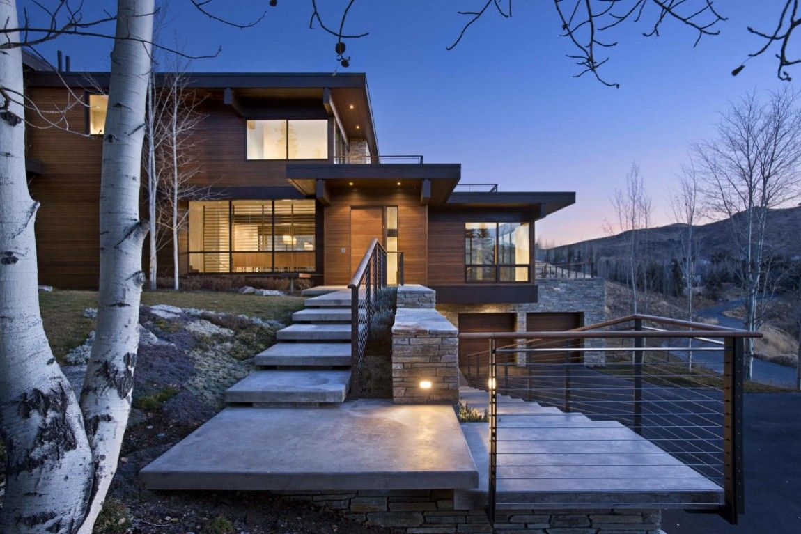 Prospector Residence By Marmol Radziner Architecture Architecture House Mountain Home Exterior