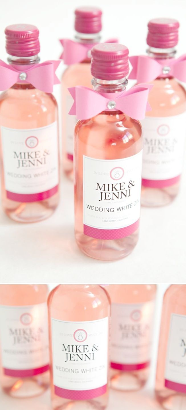 Personalized Wedding Favors Stemless Wine Glasses DIY Wedding Favor ...