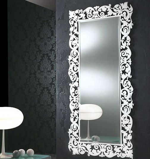 Selective In Choosing Decorative Bathroom Mirrors Modern Wall Mirror Home Interiors