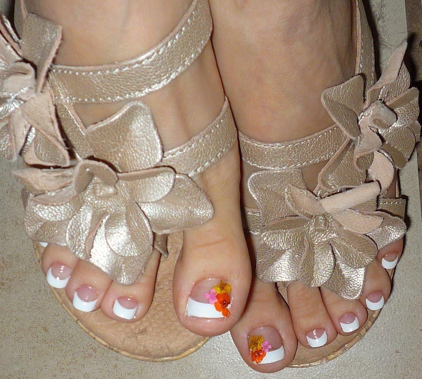 French Tip Toe Nail Designs ... | Nail Designs | Pinterest | Toe ...