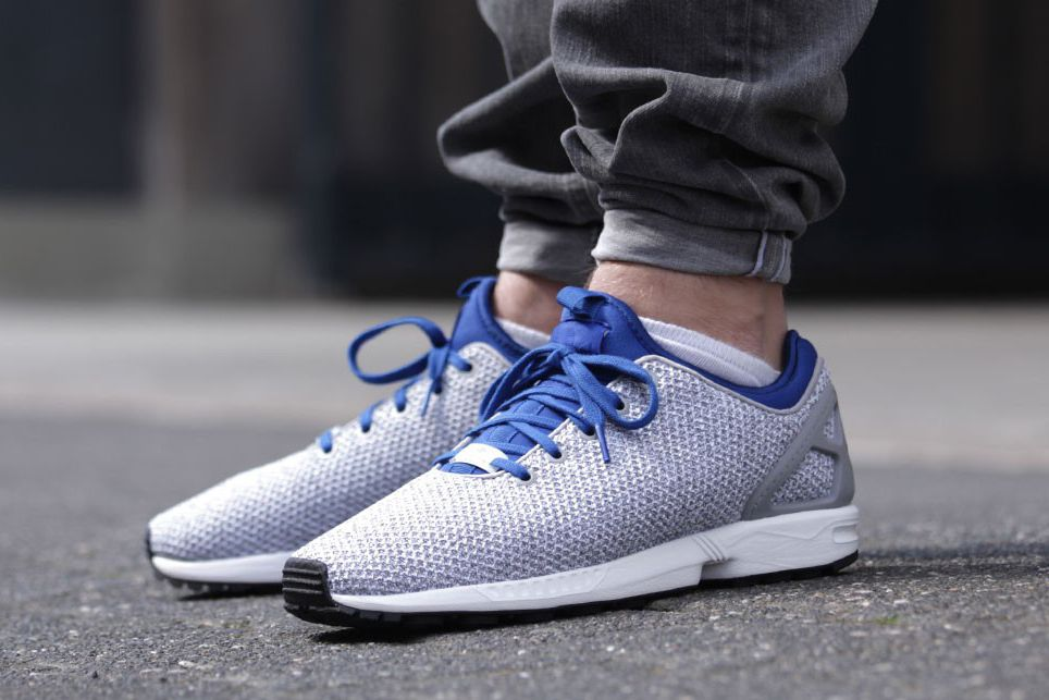 adidas Originals ZX Flux NPS Solid Grey/Collegiate Royal