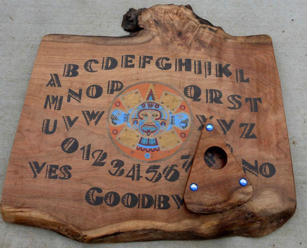 Ouija board mayan calendar spirit game tribal wooden native haunted ouija board mayan calendar spirit game tribal wooden native haunted paranormal buycottarizona Gallery