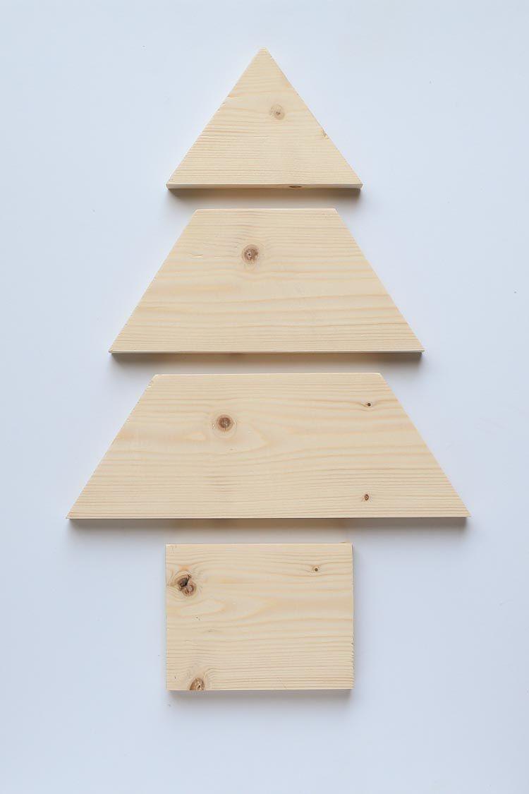 DIY Wood Christmas Tree Mason Jar Sconce | Wood christmas tree, Wooden christmas trees, Mason ...